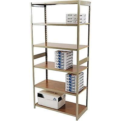Tennsco® Regal Shelving Units; Starter Set, 76Hx36Wx18D