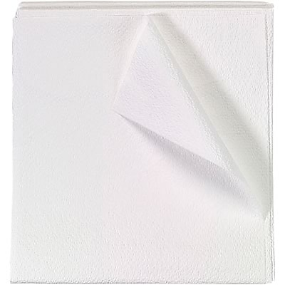 Medical Arts Press® Disposable White Drape Sheets; 2-Ply, 40x60