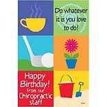 Medical Arts Press® Chiropractic Standard 4x6 Postcards; Do Whatever You Love to Do