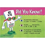 Eye Guy® Standard 4x6 Postcards; Did You Know?