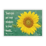 Medical Arts Press® Eye Care Recycled Postcards; Sunflower