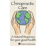 Medical Arts Press® Chiropractic Business/Appointment Cards; World, Hands