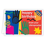 Medical Arts Press® Chiropractic Birthday Cards; Happy Birthday,  Blank Inside
