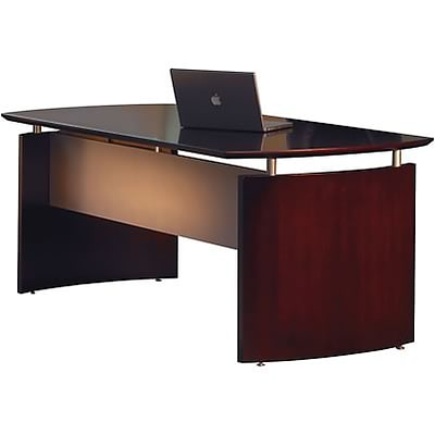 Mayline® Napoli Collection In Mahogany; Desk; 63W x 36D