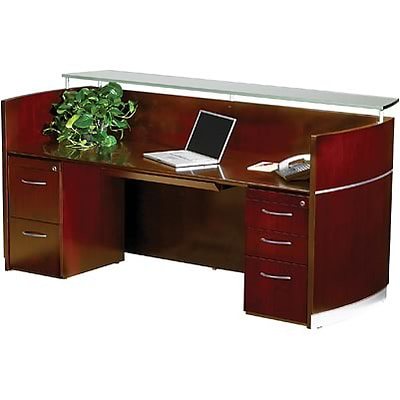 Mayline® Napoli Collection In Sierra Cherry; Reception Station