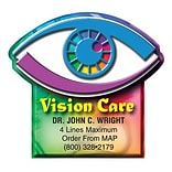 Medical Arts Press® Eye Care Die-Cut Magnets, Vision Care