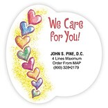 Medical Arts Press® Chiropractic Die-Cut Magnets; We Care For You