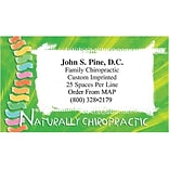 Medical Arts Press® Chiropractic Business Card Magnets; Naturally Chiropractic