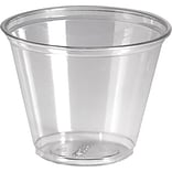 Dixie® 9 oz Clear Crystal Plastic Cups