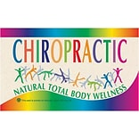 Medical Arts Press® Chiropractic Recycled Business/Appointment Cards; Tumbler/Natural