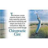 Medical Arts Press® Chiropractic Business/Appointment Cards; Jumping Lady