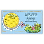 Price Wise® Peel-Off-Sticker Appointment Cards; Book Worm