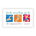 Medical Arts Press® Chiropractic Business/Appointment Cards; Sports Scenes