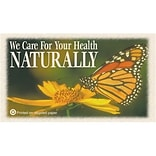 Medical Arts Press® Chiropractic Recycled Business/Appointment Cards; Butterfly