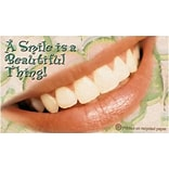 Medical Arts Press® Dental Recycled Business/Appointment Cards; Beautiful Thing