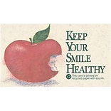 Medical Arts Press® Dental Recycled Business/Appointment Cards; Keep Your Smile Healthy