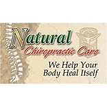 Medical Arts Press® Chiropractic Recycled Business/Appointment Cards; Natural