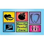 Medical Arts Press® Dental Business/Appointment Cards; Family Dental Care