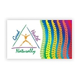 Medical Arts Press® Chiropractic Business/Appointment Cards; Good Health Triangle