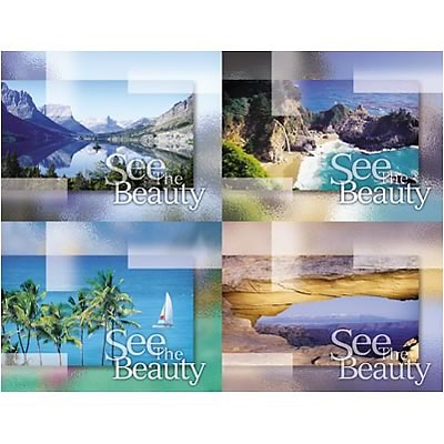 Medical Arts Press® Eye Care Assorted Laser Postcards; See the Beauty