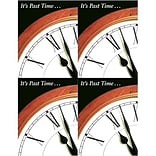 Medical Arts Press® Laser Postcards; Its Past Time/Clock
