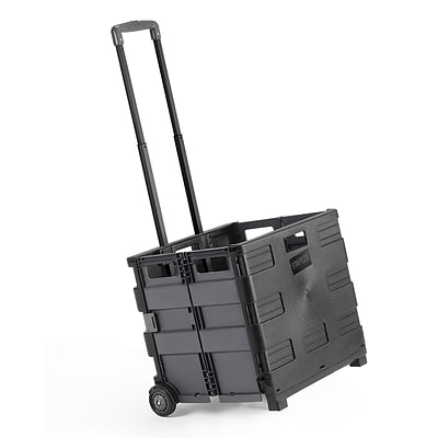 Quill Brand® Expanding Crate on Wheels; 16Hx18-1/4Wx15D