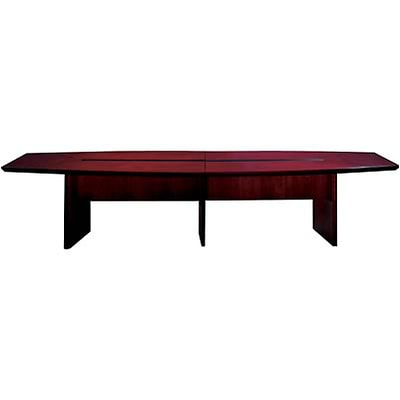 Mayline® Corsica Conference Tables In Mahogany; 18 Ft