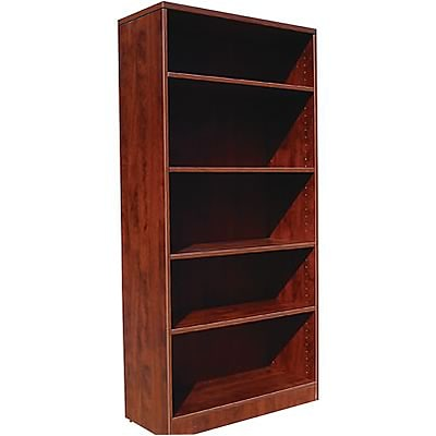 Boss® Laminate Collection in Mahogany Finish; Bookcase