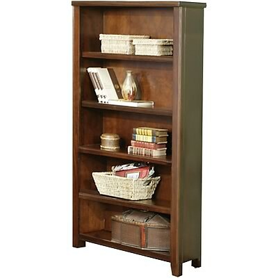 Martin Furniture Tribeca Loft Collection in Cherry Finish; Open Bookcase