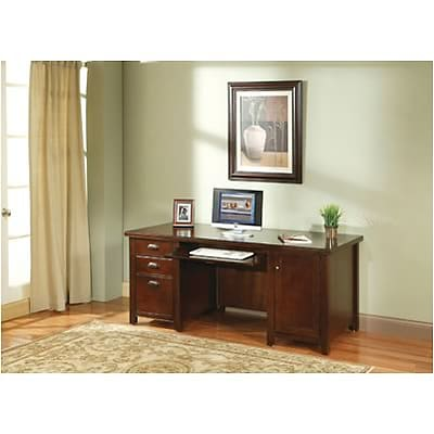 Martin Furniture Tribeca Loft Collection in Cherry Finish; Computer Credenza