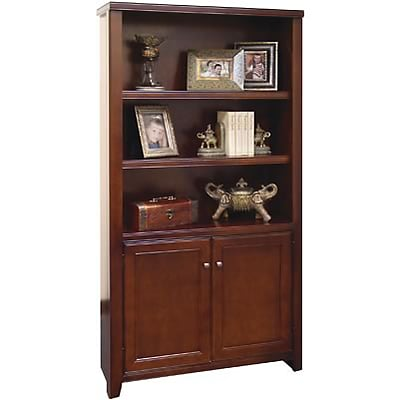 Martin Furniture Tribeca Loft Collection in Cherry Finish; Lower Door Bookcase