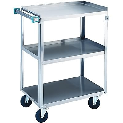 Stainless Steel Utility Cart; Economy