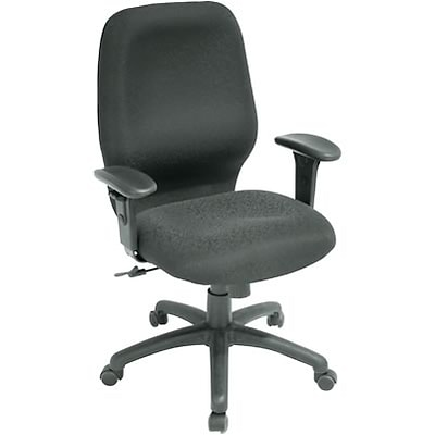 Regency® Fabric Task Chair; Black