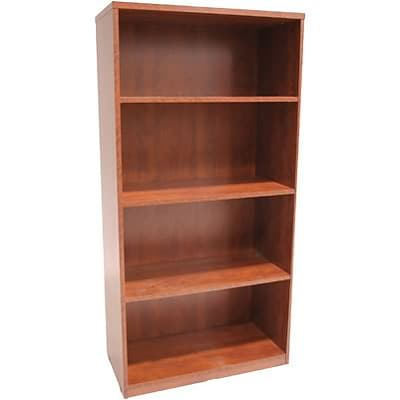 Regency® Sandia Office Collection in Cherry Finish; 4-Shelf Bookcase