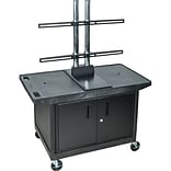 Luxor Flat Panel LCD Screen Cart