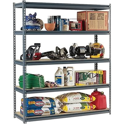 Edsal® Extra-Wide 16-Gauge Boltless Shelving, 60Wx18D