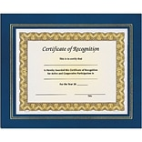 Awards4Work® Blue Leatherette Frames