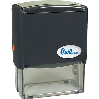 quill 3x1 1 2 custom self inking stamps quill com
