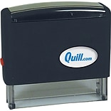 Quill 2-3/4x7/16 Custom Self-Inking Stamps