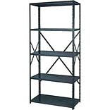36W Commercial-Grade 5-Shelf Open Shelving