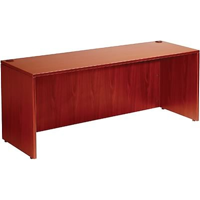 Boss® Laminate Collection in Cherry Finish; Desk Shell, 66Wx30D
