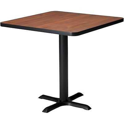 Tiffany Industries™ Bistro Hospitality Square Tables; 28Hx36W, Mahogany