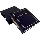 Corpex® Econoline Corporate Outfit with Minutes; Black Binder