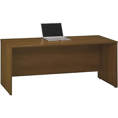 Bush® Corsa Collection in Warm Oak Finish; Credenza, 72W, Fully Assembled