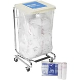 Water Soluble Laundry Bags; Hot, 30-32 Gallon, 28x39