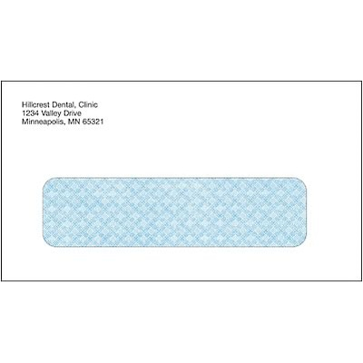 Medical Arts Press(r) Imprinted #6-3/4 Billing/Reply Single