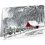 Cozy In The Country Holiday Cards