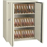 44 Fireproof End-Tab File Cabinets