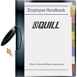 Quill Brand® Black Swing Arm Report Covers