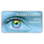 Custom Printed Medical Arts Press® Full-Color Eye Care Name Badges; Standard, Enjoy Life